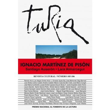 Portada Revista Turia 105-106