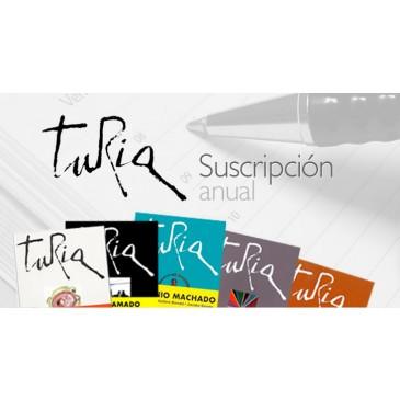Suscripción Revista TURIA