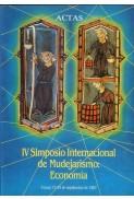 Actas del IV Simposio Internacional de Mudejarismo: Economía (1987)